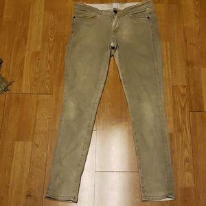 Rich & Skinny faded sage skinny jeans 28